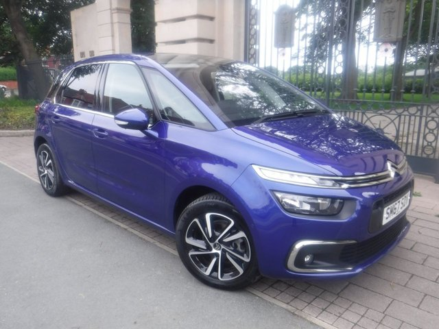 USED 2018 67 CITROEN C4 PICASSO 1.2 PURETECH FEEL 5d 129 BHP *ONLY 1000 MILES*AUTOMATIC PETROL*SAT NAV*1 OWNER*FULL CITROEN SERVICE HISTORY*