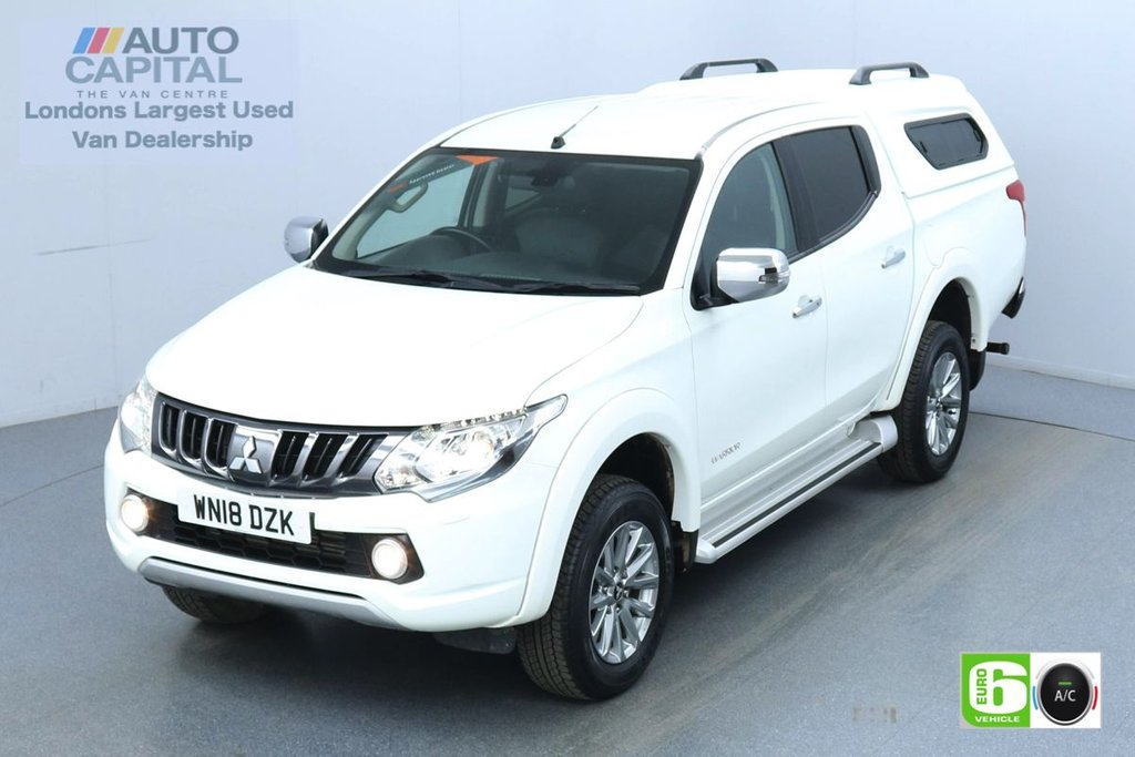 USED 2018 18 MITSUBISHI L200 2.4 DI-D 4WD warrior Auto 180 Bhp Leather Seats Low Emission Finance Available Online   Reverse Camera   GPS