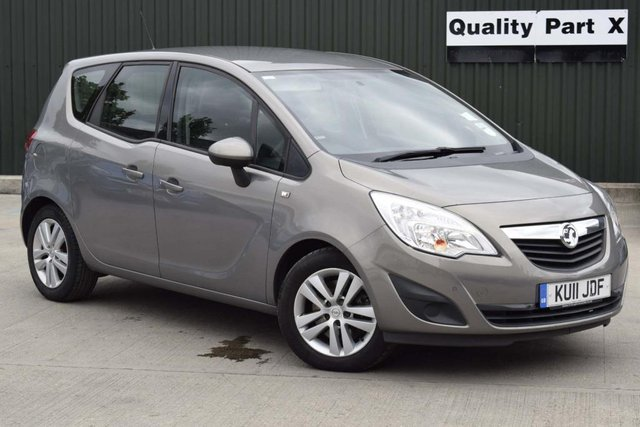 USED 2011 11 VAUXHALL MERIVA 1.7 CDTi 16v S 5dr CALL FOR NO CONTACT DELIVERY