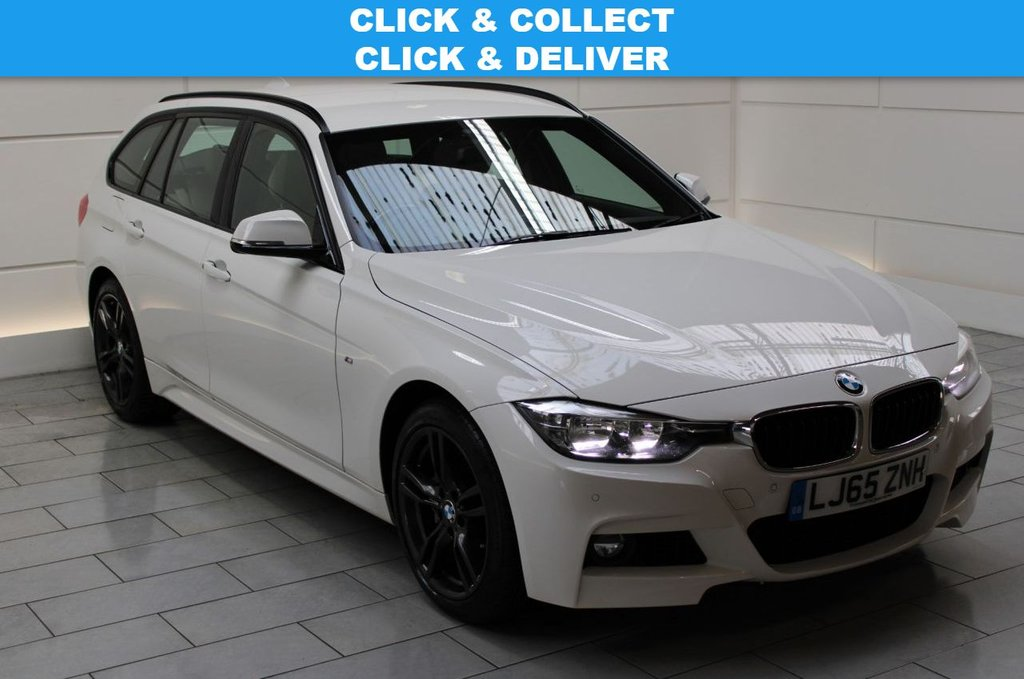 USED 2015 65 BMW 3 SERIES 3.0 335d M Sport Touring Auto xDrive (start/stop) 5dr SAT NAV & LEATHER & EU6 MODEL