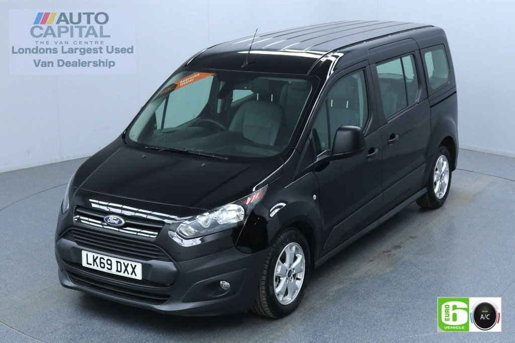 USED 2019 69 FORD TOURNEO CONNECT Trendline Auto L2 LWB 5 Seats LPG Engine  Finance Available Online | Reverse Camera | Rear Sensors | UK Delivery