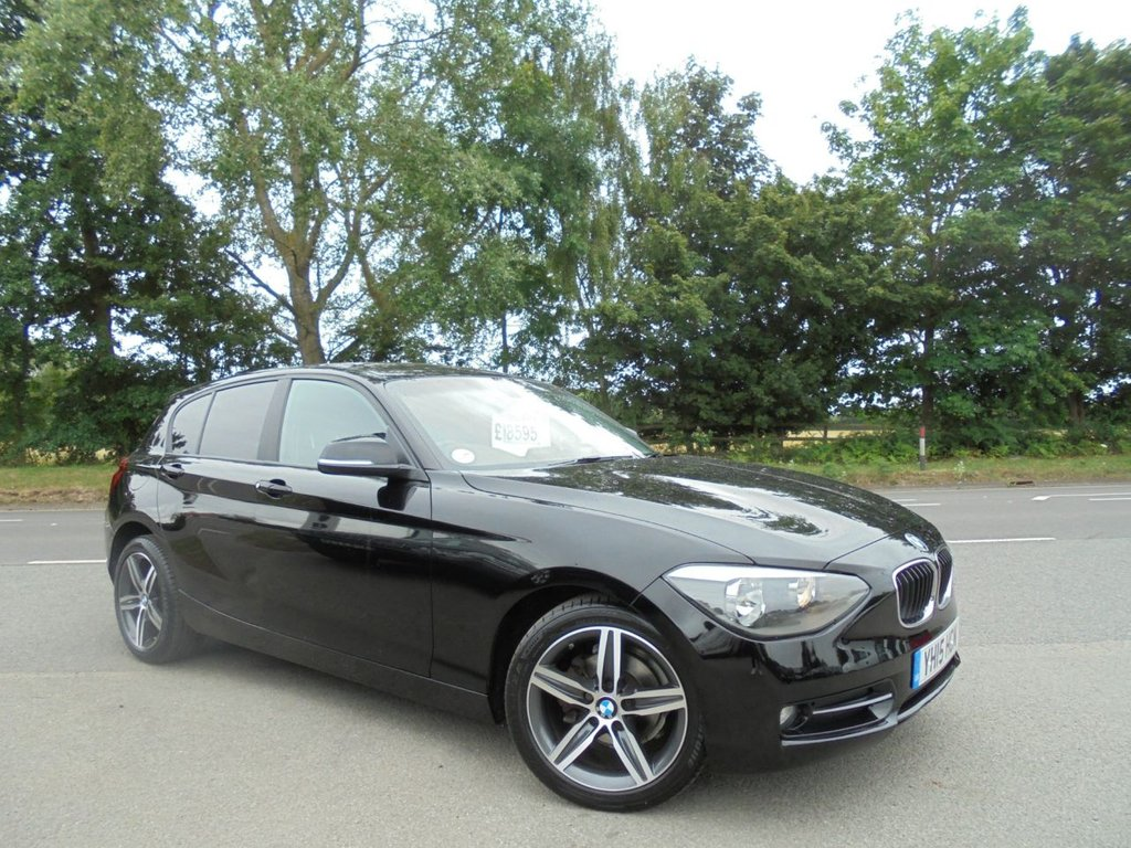 USED 2015 15 BMW 1 SERIES 2.0 116D SPORT 5d 114 BHP