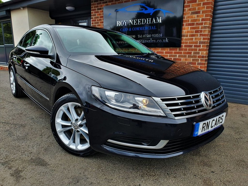 USED 2016 66 VOLKSWAGEN CC 2.0 TDI BLUEMOTION TECHNOLOGY 4DR 148 BHP *** SAT NAV - FSH - 1 OWNER ***