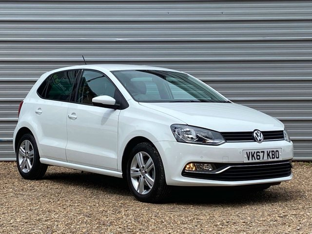 USED 2017 67 VOLKSWAGEN POLO 1.2 MATCH EDITION TSI 5d 89 BHP Navigation with Apple CarPlay