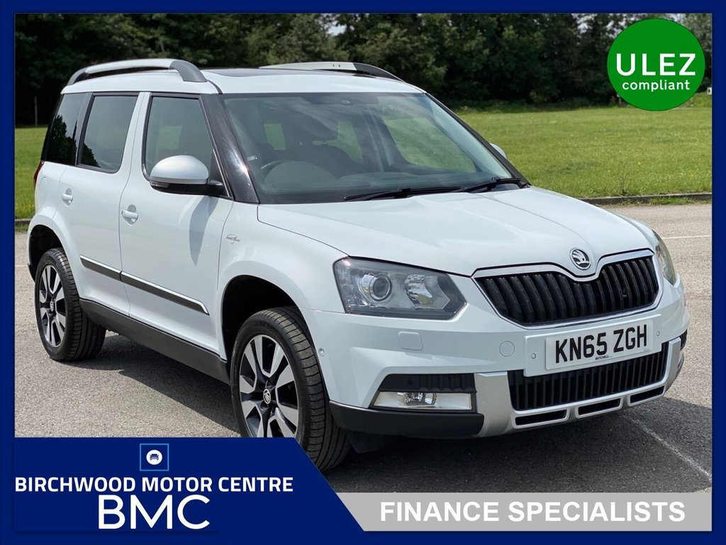 USED 2015 65 SKODA YETI 2.0 OUTDOOR LAURIN AND KLEMENT TDI DSG SCR 5d 148 BHP