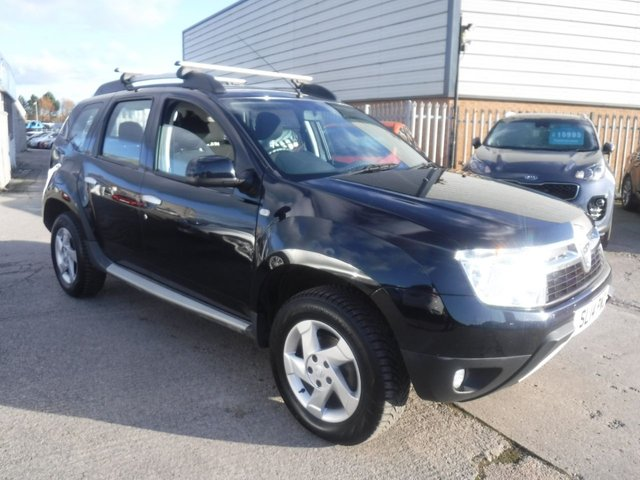 USED 2014 14 DACIA DUSTER 1.5 LAUREATE DCI 4WD 5d 109 BHP 1 OWNER*4 WHEEL DRIVE*SERVICE HISTROY*ECO MODE*AUX