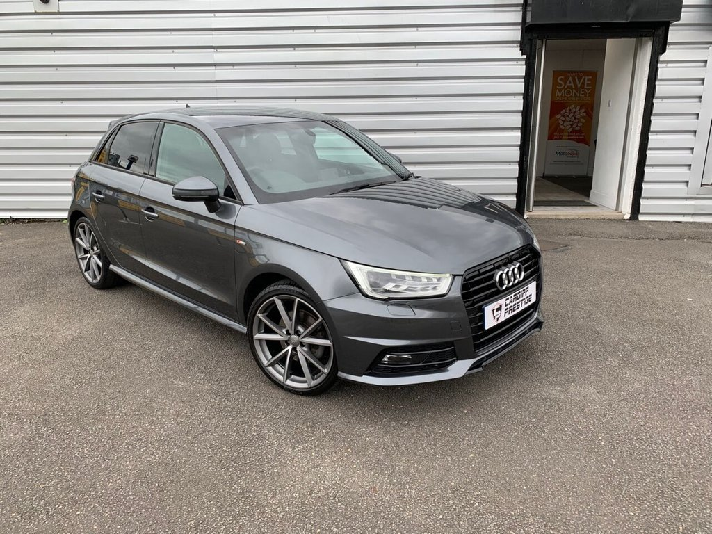 USED 2017 17 AUDI A1 1.4 SPORTBACK TFSI BLACK EDITION 5d 148 BHP £2820 in optional extras!!