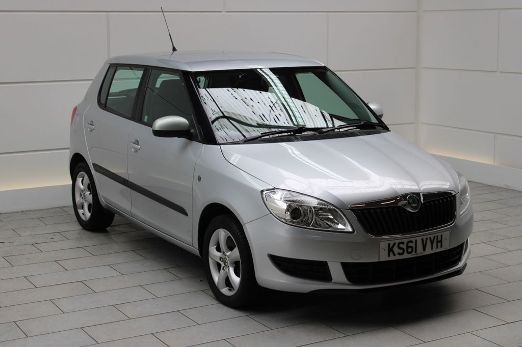 USED 2011 61 SKODA FABIA 1.2 TSI SE 5dr 6 DOCUMENTED SERVICES!
