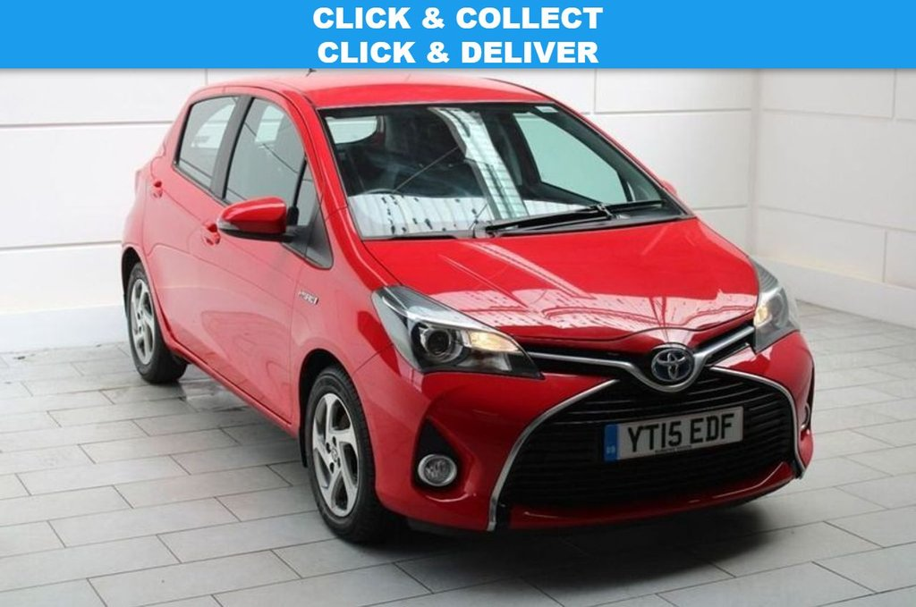 USED 2015 15 TOYOTA YARIS 1.5 VVT-h Icon E-CVT 5dr 5 TOYOTA MAIN DEALER SERVICES!