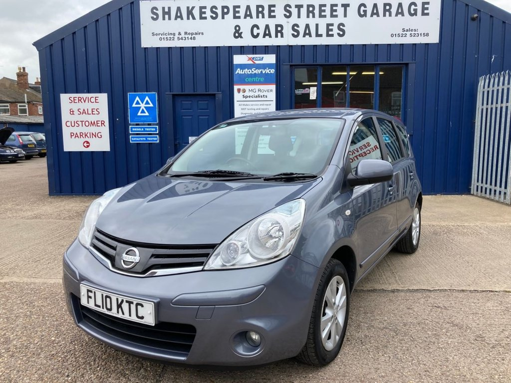 USED 2010 10 NISSAN NOTE 1.4 ACENTA 5d 88 BHP