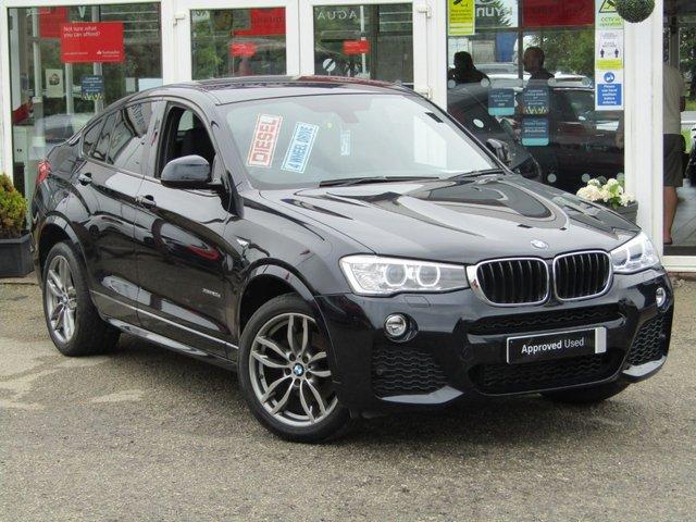 2015 65 BMW X4 2.0 XDRIVE20D M SPORT 4d 188 BHP