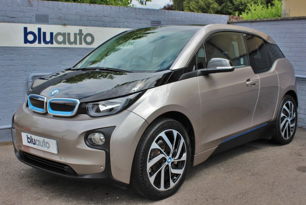 USED 2015 15 BMW I3 0.6 I3 RANGE EXTENDER 5d 168 BHP £3.7k worth of Extras... Panoramic Sunroof, DC Charger, Park Assist ....