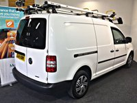 USED 2014 14 VOLKSWAGEN CADDY MAXI 1.6 C20 TDI STARTLINE BLUEMOTION TECHNOLOGY 101 BHP SAT NAV, AIR CON, BLUETOOTH,