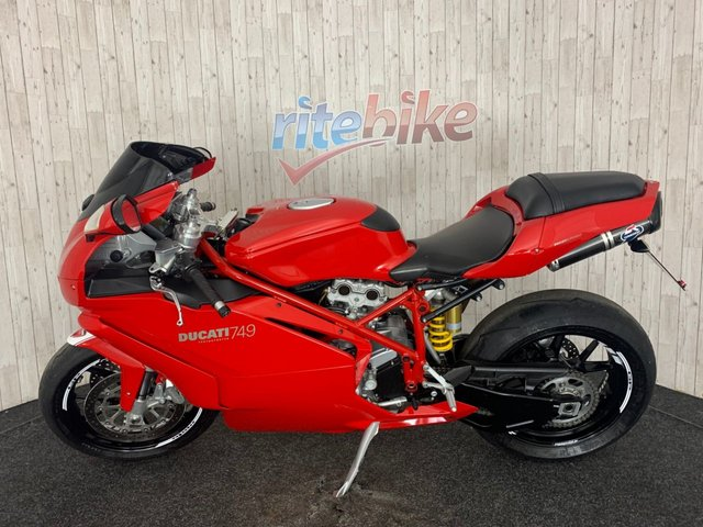 DUCATI 749 at Rite Bike