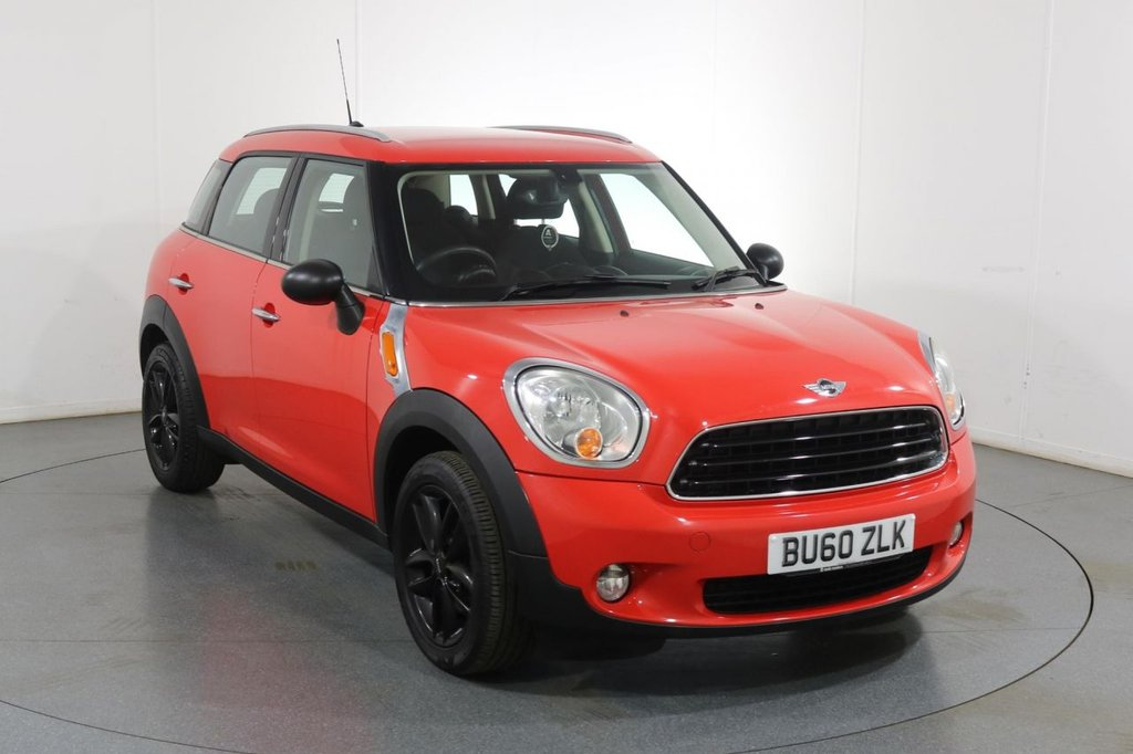 USED 2010 60 MINI COUNTRYMAN 1.6 ONE 5d 98 BHP 6 Stamp SERVICE HISTORY