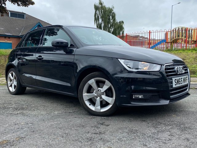 USED 2015 65 AUDI A1 1.6 SPORTBACK TDI SPORT 5d 114 BHP 1 FORMER KEEPER+2 KEYS+NAVIGATION+BLUETOOTH+CLIMATE+CRUISE+AIR CONDITIONING+PARKING SENSORS+ELECTRIC WINDOWS+£0 ROAD TAX+ALLOY WHEELS+MEDIA+AUXILIARY+USB+