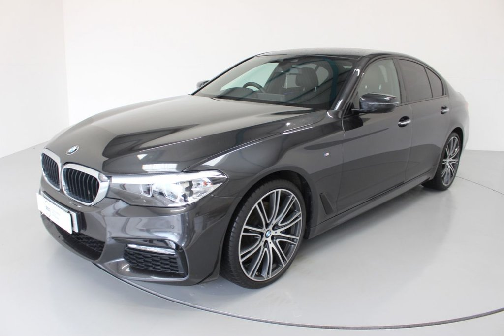 USED 2017 67 BMW 5 SERIES 3.0 530D XDRIVE M SPORT 4d AUTO-1 OWNER FROM NEW-M SPORT PLUS, 20