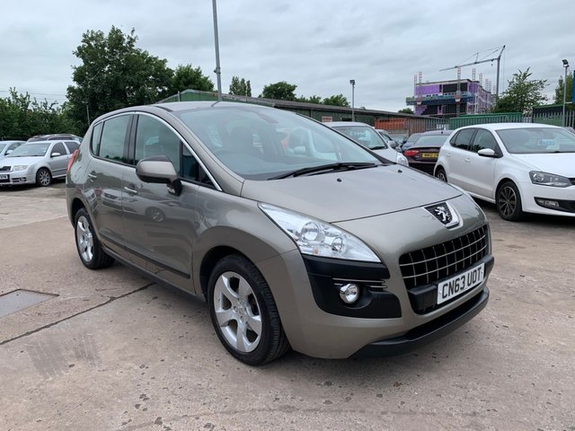USED 2013 63 PEUGEOT 3008 1.6 HDI ACTIVE 5d 115 BHP FULL SERVICE HISTORY