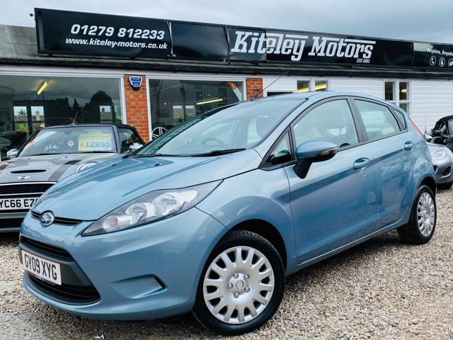 2009 09 FORD FIESTA 1.4 STYLE PLUS AUTOMATIC