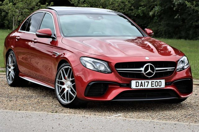 USED 2017 17 MERCEDES-BENZ E-CLASS 4.0 E63 BiTurbo V8 AMG S (Premium) SpdS MCT 4MATIC+ (s/s) 4dr LUXURY SPEED and PEDIGREE