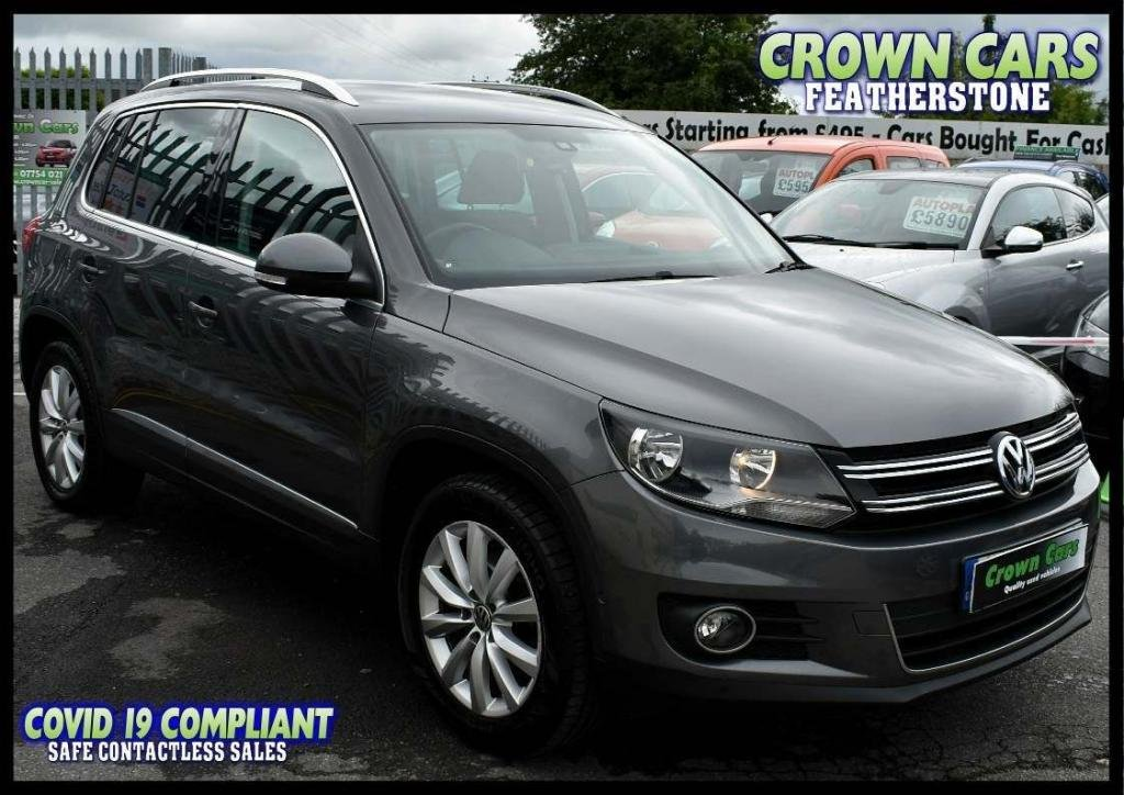 USED 2014 14 VOLKSWAGEN TIGUAN 2.0 TDI BlueMotion Tech Match 2WD (s/s) 5dr AMAZING LOW RATE FINANCE DEALS