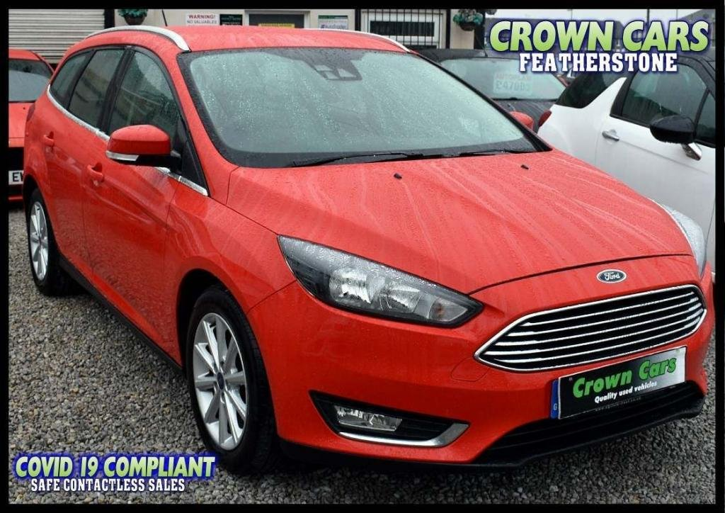 USED 2017 17 FORD FOCUS 1.5 TDCi Titanium (s/s) 5dr AMAZING LOW RATE FINANCE DEALS