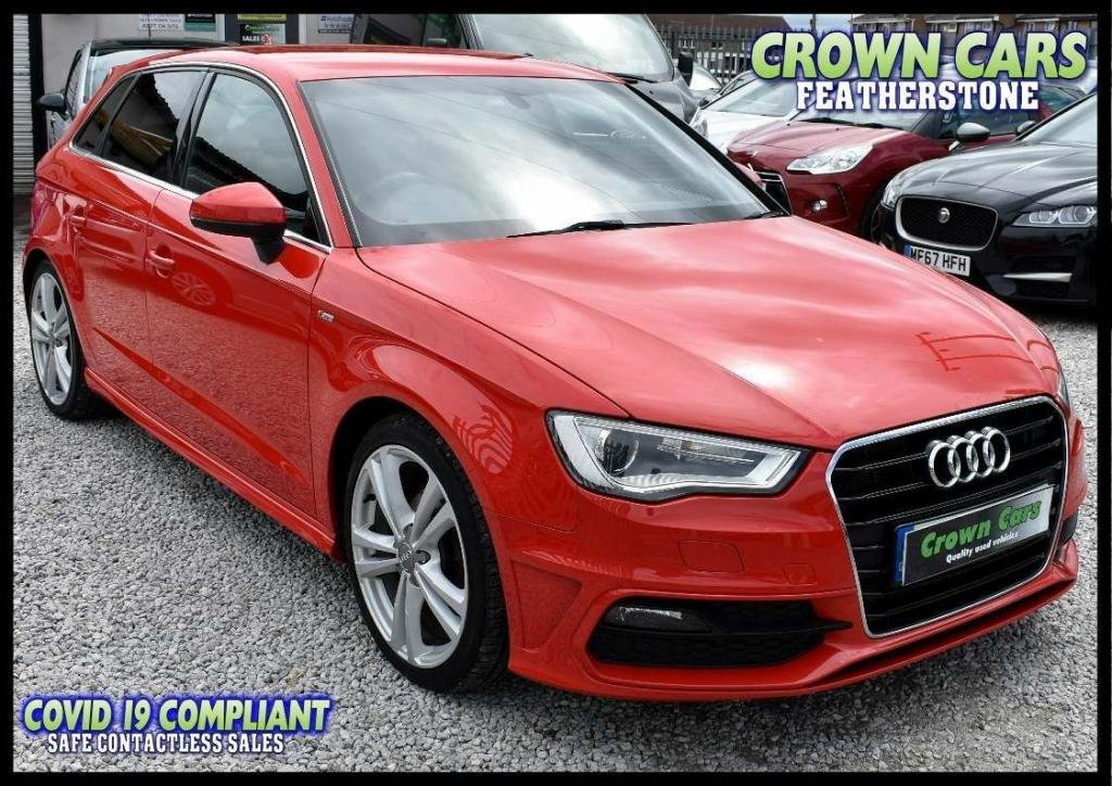 USED 2013 13 AUDI A3 2.0 TDI S line Sportback 5dr AMAZING LOW RATE FINANCE DEALS