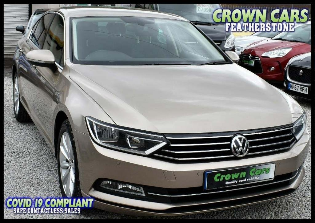 USED 2016 16 VOLKSWAGEN PASSAT 2.0 TDI BlueMotion Tech SE Business (s/s) 4dr BUY ONLINE & FREE DELIVERY*