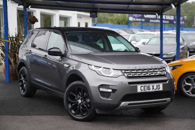 2016 16 LAND ROVER DISCOVERY SPORT 2.0 TD4 HSE 5d 180 BHP
