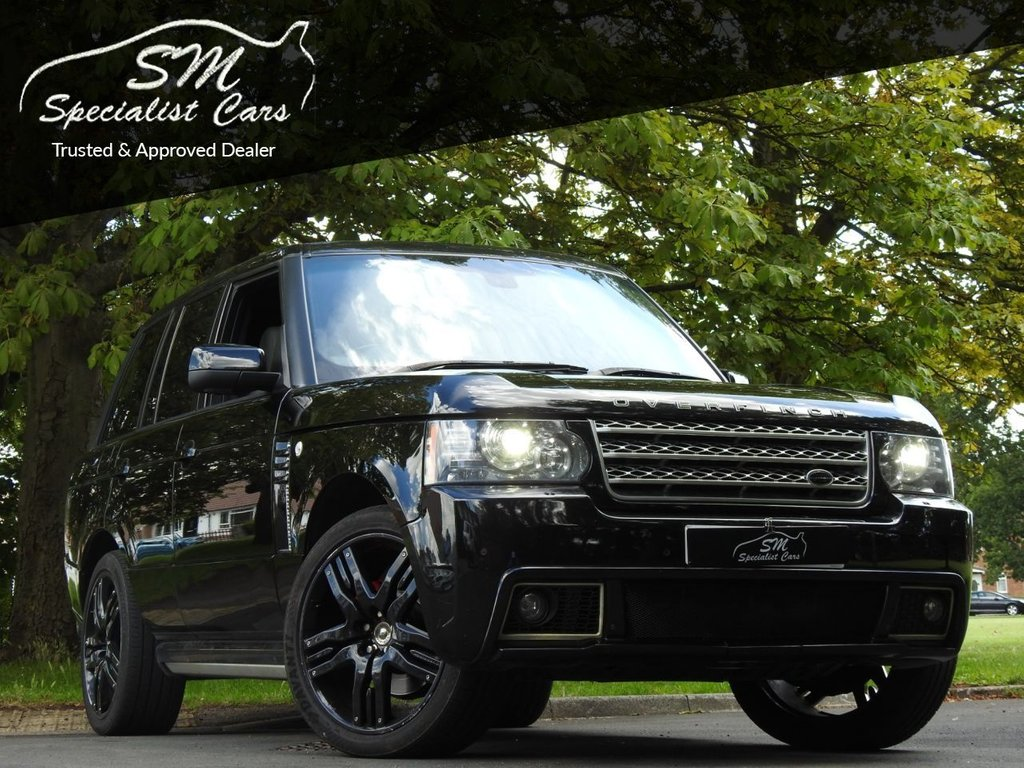 USED 2010 10 LAND ROVER RANGE ROVER 3.6 TDV8 VOGUE SE 5d 271 BHP OVERFINCH HUGE SPEC S/NAV FSH