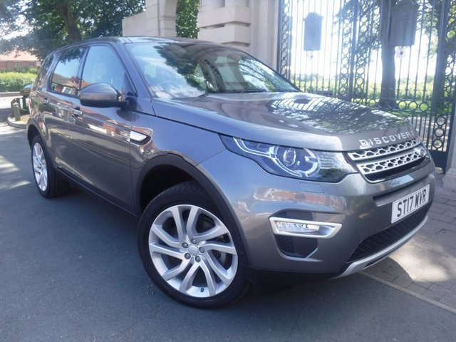 USED 2017 17 LAND ROVER DISCOVERY SPORT 2.0 TD4 HSE LUXURY 5d 180 BHP LEATHER*PAN ROOF*4WD*CRUISE*AC*LAND ROVER SERVICE HISTORY*7 SEATS