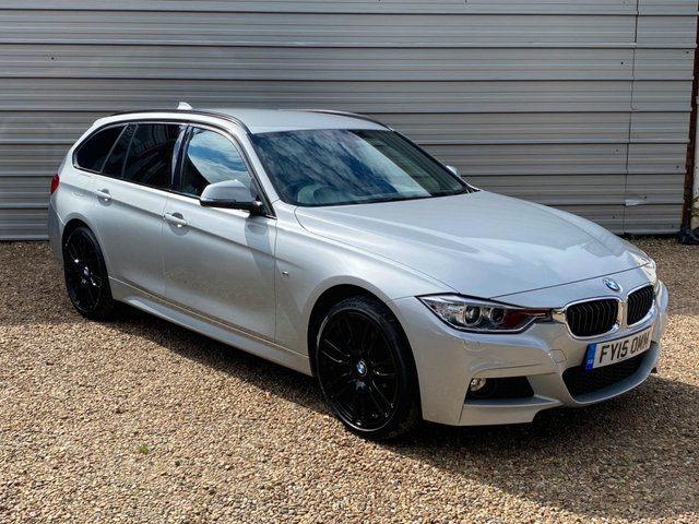 USED 2015 15 BMW 3 SERIES 2.0 320D XDRIVE M SPORT TOURING 5d 181 BHP M Sport Design Package