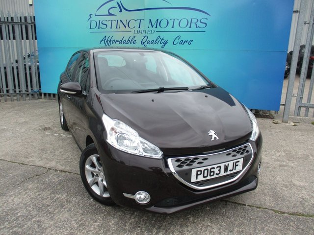 USED 2013 63 PEUGEOT 208 1.4 ACTIVE E-HDI  5d 68 BHP