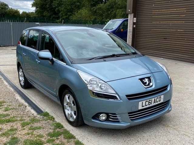USED 2011 61 PEUGEOT 5008 1.6 HDI FAMILY FAP 5d 112 BHP 7 SEATER + REAR ENTERTAINMENT + HEADS UP DISPLAY