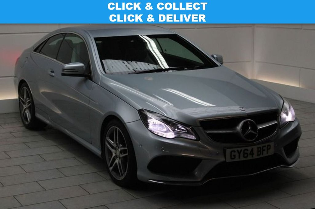 USED 2014 64 MERCEDES-BENZ E-CLASS 2.1 E250 CDI AMG Line 7G-Tronic Plus 2dr LIST PRICE WHEN NEW OVER £41K!