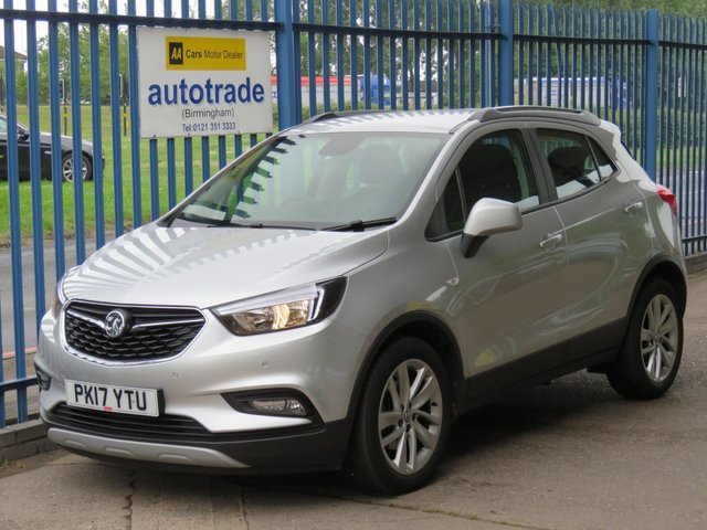 USED 2017 17 VAUXHALL MOKKA X 1.4 ACTIVE S/S 5d 138 BHP APPLE CAR PLAY, FRONT AND REAR SENSORS, CRUISE CONTROL, HISTORY APPLE CAR PLAY, FRONT AND REAR PARKING SENSORS, BLUETOOTH, DAB, CRUISE CONTROL, VAUXHALL INTELLI LINK APPS, WITH USB, SERVICE HISTORY