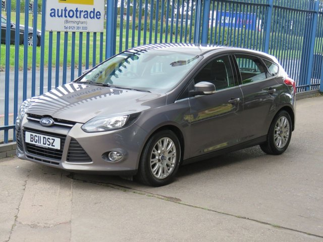 USED 2011 11 FORD FOCUS 1.6 TITANIUM TDCI 115 5dr Cruise Alloys DAB Bluetooth Auto lights Finance arranged Part exchange available Open 7 days
