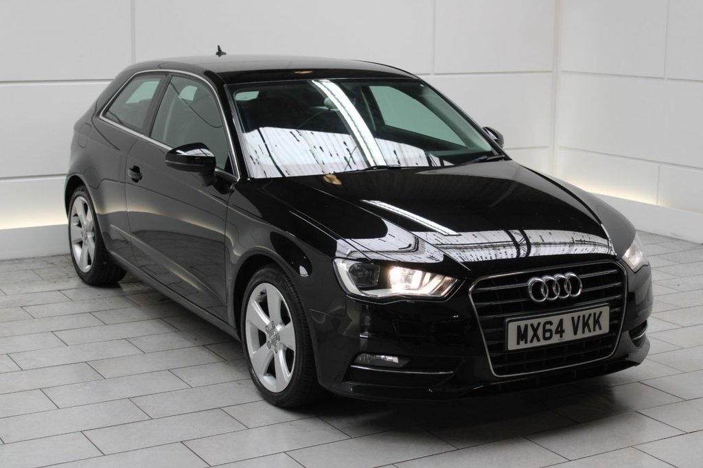 USED 2014 64 AUDI A3 2.0 TDI Sport [150] 3dr 4 DOCUMENTED SERVICES & EU6!