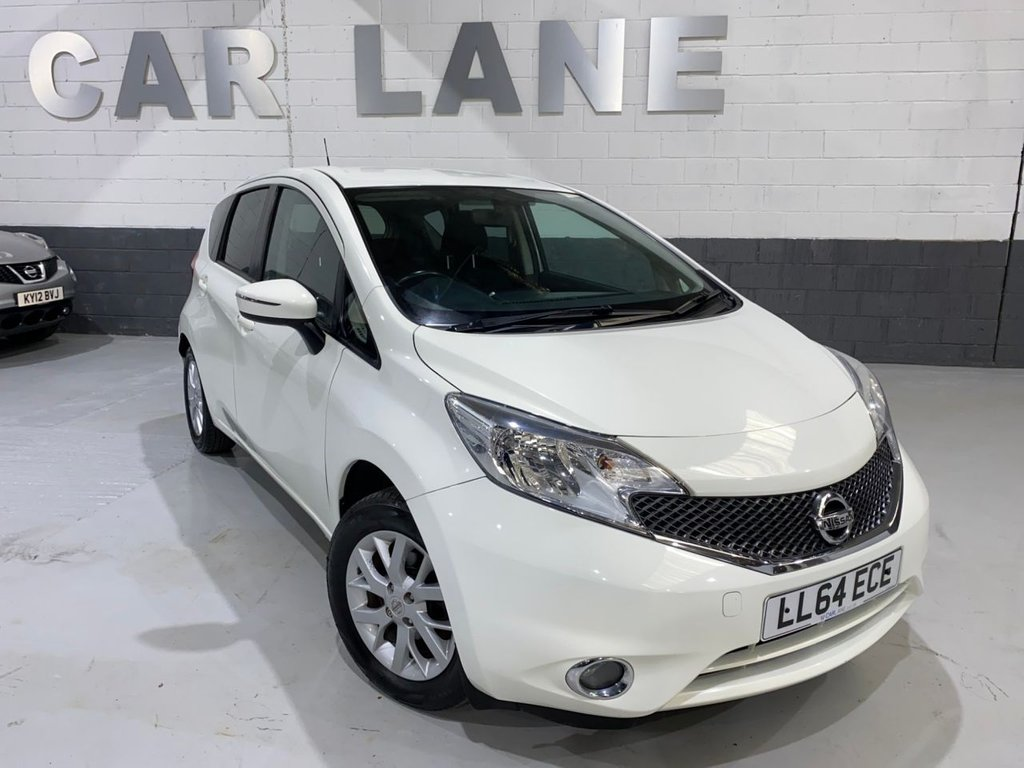 USED 2014 64 NISSAN NOTE 1.2 ACENTA 5d 80 BHP