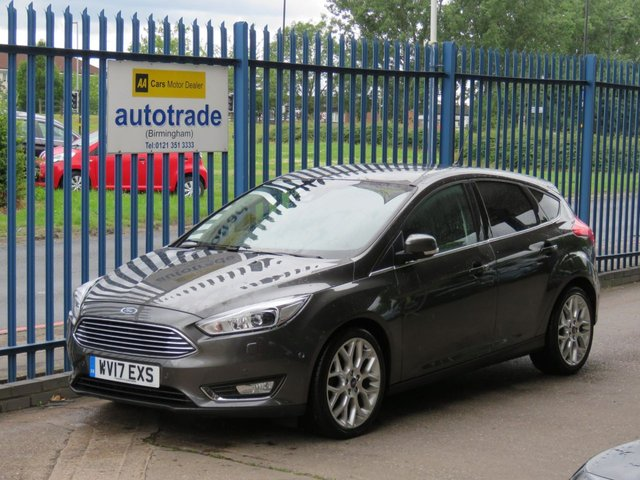 USED 2017 17 FORD FOCUS 1.5 TITANIUM X TDCI 5d 118 BHP SAT NAV, APPLE CAR PLAY, REVERSE CAMERA, HISTORY, ZERO ROAD TAX SAT NAV, ACTIVE PARK ASSIST, SERVICE HISTORY, HEATED 1/2 LEATHER, TRAFFIC SIGN RECOGNITION, DAB, BLUETOOTH. REVERSE CAMERA