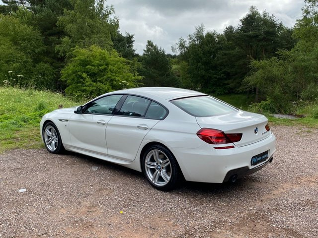 USED 2017 17 BMW 6 SERIES 3.0 640D M SPORT GRAN COUPE 4d 309 BHP FULL LEATHER