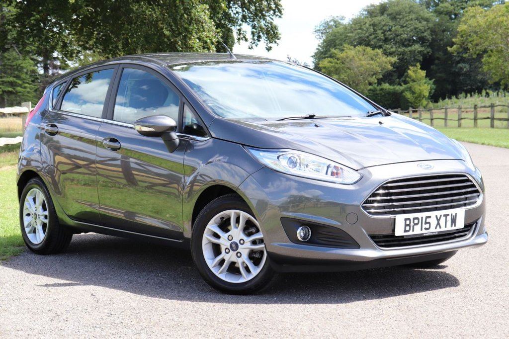 USED 2015 15 FORD FIESTA 1.5 ZETEC TDCI 5d 74 BHP Full Ford Service History