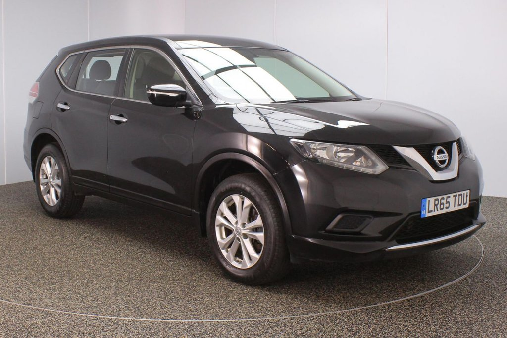 USED 2015 65 NISSAN X-TRAIL 1.6 DCI VISIA 5DR 1 OWNER 7 SEATS 130 BHP FULL SERVICE HISTORY + 7 SEATS + BLUETOOTH + CRUISE CONTROL + MULTI FUNCTION WHEEL + AIR CONDITIONING + RADIO/CD/AUX/USB + ELECTRIC WINDOWS + ELECTRIC/HEATED DOOR MIRRORS + 17 INCH ALLOY WHEELS