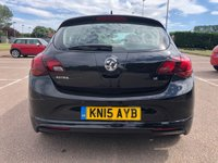 USED 2015 15 VAUXHALL ASTRA 1.6 TECH LINE GT 5d 115 BHP