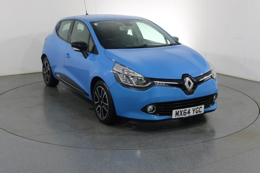 USED 2014 64 RENAULT CLIO 0.9 DYNAMIQUE MEDIANAV ENERGY TCE S/S 5d 90 BHP 2 OWNERS with 4 Stamp SERVICE HISTORY