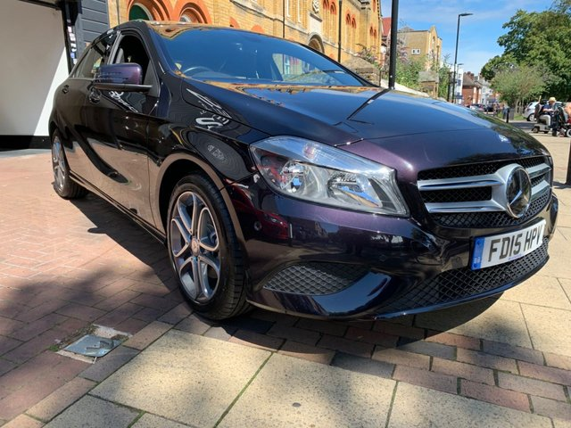 USED 2015 15 MERCEDES-BENZ A-CLASS 1.6 A200 BLUEEFFICIENCY SPORT 5d 156 BHP FULLY PREPARED FOR SALE INCLUDING FULL SERVICE, NEW 12 MONTH MOT, RAC PLATINUM WARRANTY