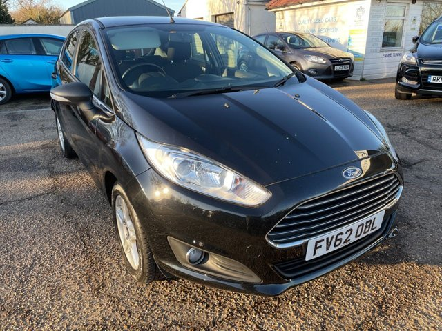USED 2013 62 FORD FIESTA 1.0 ZETEC 5d 99 BHP LOW WARRANTED MILEAGE/ FULL SERVICE HISTORYThi