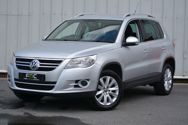 2010 L VOLKSWAGEN TIGUAN 2.0 MATCH TDI BLUEMOTION TECHNOLOGY 5d 138 BHP