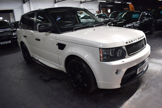 USED 2010 10 LAND ROVER RANGE ROVER SPORT 3.6 TDV8 AUTOBIOGRAPHY SPORT LE 5d 269 BHP TRADE SALE! - VERY RARE 3.6 TDV8 AUTOBIOGRAPHY SPORT LE - 9 SERVICE STAMPS TO 78K - TWO TONE LEATHER - 20 INCH GLOSS BLACK ALLOYS - SIDE STEPS