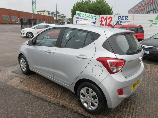 USED 2014 14 HYUNDAI I10 1.0 SE 5d 65 BHP ** ONLY 23,000 MILES FROM NEW**SERVICE HISTORY